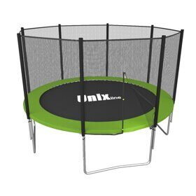 Батут UNIX line Simple 8 ft outside (green)