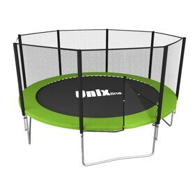 Батут UNIX line Simple 12 ft outside (green)